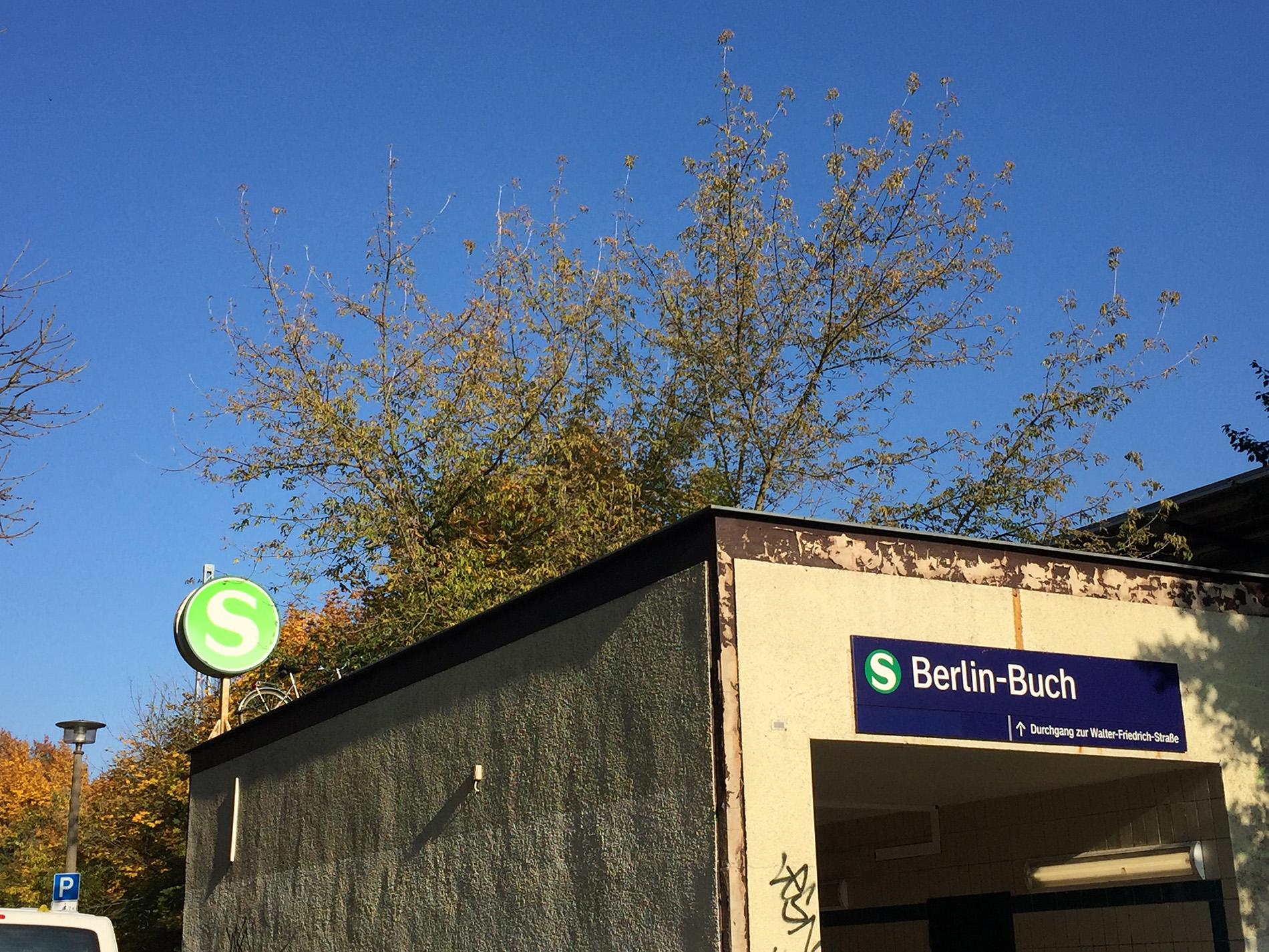 Panke Buch S-Bahn