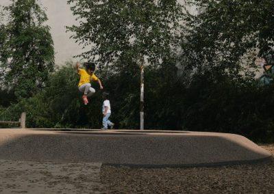 Trampoline: Friedrichshain