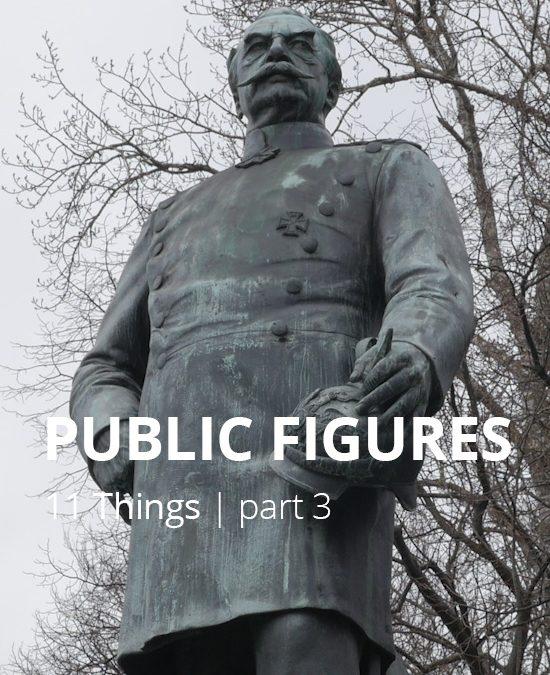 #3 PUBLIC FIGURES