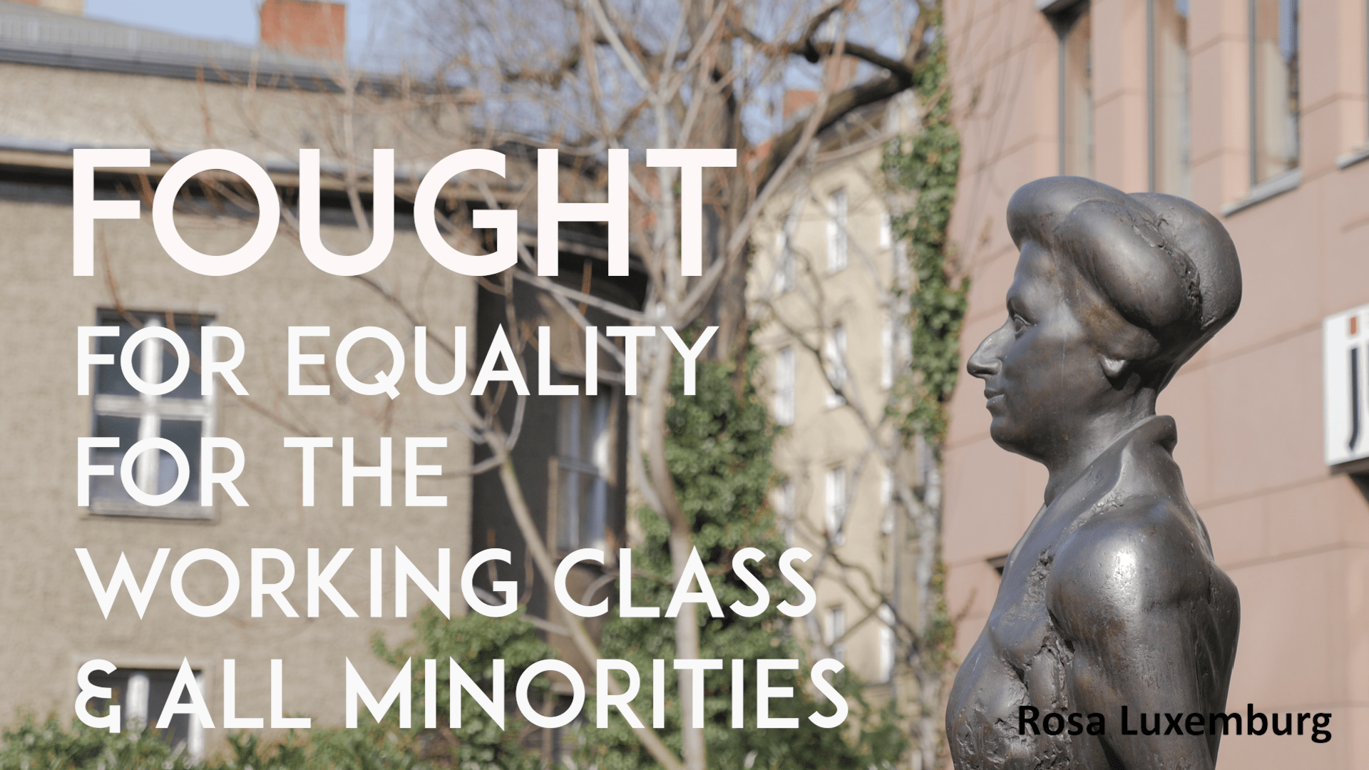 Rosa Luxemburg Berlin